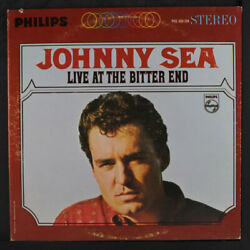 JOHNNY SEA: live at the bitter end Philips 12quot; LP $10.00