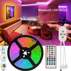 Smart 50ft WIFI works with Alexa Music Sync Rooms Tape LED Strip Lights 5050 RGB $24.69