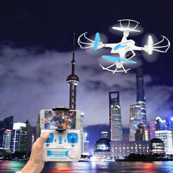 FPV RC Drone with HD Camera Wifi Live Video Headless Mode 4 Channel Quadcopter $25.64