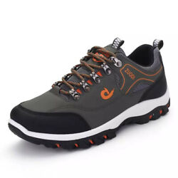 Men#x27;s Hiking Mountain Outdoor Trail Trekking Breathable Climbing Shoes Sneakers $38.94
