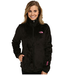 New Womens The North Face Ladies Osito Fleece Coat Top Jacket Black $42.41