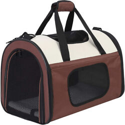 Soft Sided Kennel Pet Carrier for Small Dogs Cats Puppy Airline Approved Cat $24.89