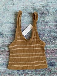 Urban Outfitters Out From Under Women#x27;s Cropped Tank Top Ribbed Size XS S $14.99