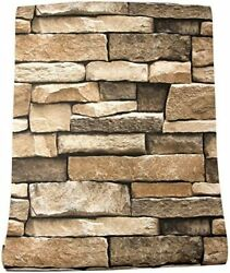 Vintage Stone Peel amp; Stick Self Adhesive Kitchen 3D Wallpaper Wall Living room $45.50