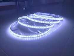4x17.5quot; Double Row Pure White Brightest LED Wheel Ring Lights Switch Waterproof $190.25