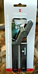 Victorinox CAN OPENER Black Swiss Army Stainless Kitchen Cutlery NEW $18.99