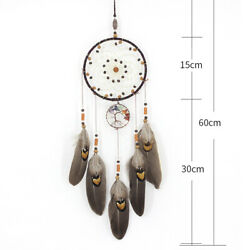 Antique Feather pendant Ornament Pendant Room Wall mounted Balcony Decoration C $18.31
