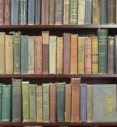 Old Vintage antique Books Lot of 10 Random unsorted mixed wholesale crafts $29.00