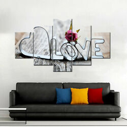 5PCS set Art Oil Painting Print Canvas Picture Home Wall Dining Room Decor $19.48