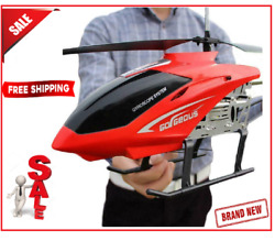 Rc Model Big Size Helicopter Remote Control Aircraft Vehicles Kids Gift Toys New $70.85