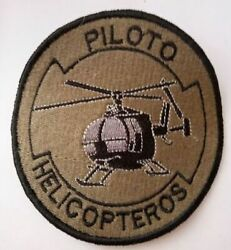 Peru Air Force patch Piloto de Helicopteros Helicopter Pilot $12.00