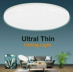 36W Bright Round LED Ceiling Down Light Panel Wall Bathroom Kitchen Office Lamp $16.45