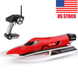 Wltoys WL915 RC BRUSHLESS F1 RACING BOAT 2.4GHZ 45km h F1 Speedboat High Speed $201.39