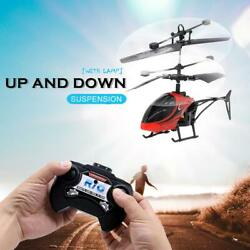 Mini USB Remote Control Helicopter Induction Aircraft RC Drone with Light US4 $14.17