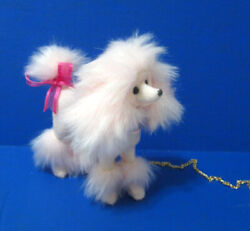 Fluffy Pink Princess Poodle Dog for Model muse Silkstone Barbie diorama display $36.99