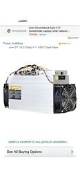 BRAND NEW SEALED BOX D3 X11 BITMAIN ANTMINER DASH 19.3 GH S FAST SHIPPING $45.00
