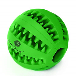 SunGrow Dental Chew Treat Ball for Dogs amp; Cats Interactive Pet Training Toy 1