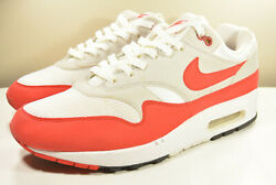NIKE 2017 AIR MAX 1 OG RETRO UNIVERSITY RED 10 VINTAGE ATMOS SAFARI 97 PLUS 90