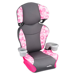 Toddler Car Seat Safety Vehicle Girls Big Kid Booster Child Chair Highback Pink $48.97