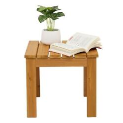 Side Table For Small Spaces Coffee Tray End Table Bedside Night Stand Outdoor $44.99