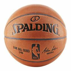 Spalding Replica Indoor Outdoor Game Ball Orange Size 7 29.5 Inch $29.00