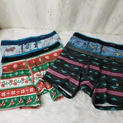 Stance Boys Lot of 4 Boxer Briefs Poly Blend Underwear Size M 8 10 NWOT $27.99