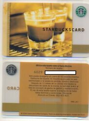 Starbucks Spain Coffee as Art serial 6029 card number EME 147 mint condition $70.00