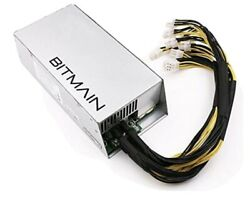 Bitmain Power Supply PSU Antminer APW3 for S9 or L3 or D3 $65.00