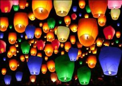Chinese Paper Colorful Lantern Decoration Wedding Party Event 10 20 50 100 PCS $24.99