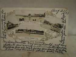 Providence R I Rhode Island Greetings early postcard 1903 $12.99