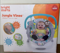 Bouncer For Babies Bright Starts Jungle Vines $25.00