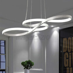 Acrylic Modern LED Ceiling Light Lamp Pendant Dining Room Dimmable Fixture $55.21