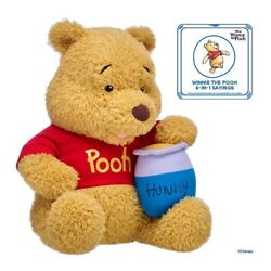 Build A Bear WINNIE THE POOH w Red Shirt Hunny Pot and Sound *PREORDER* $120.00