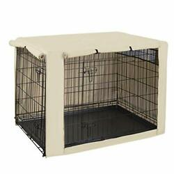 HiCaptain Polyester Dog Crate Cover Durable Windproof Pet 42 Inch Tan $35.10
