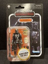 ⚡️Star Wars Vintage Collection Din Djarin The Mandalorian and The Child 🔥🔥🔥 $29.00
