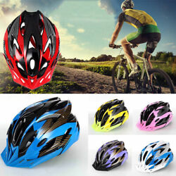 USA Cycling Bicycle Adult Men Womens Bike Helmet With Visor Mountain Shockproof $15.99