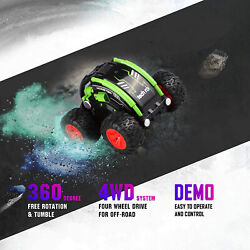 rc MINI Micro Stunt Cars Racing Remote Control Trucks Toy Gift for Kids Boys $15.99