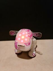2007 Hasbro Sega Robot 4quot; I DOG Pink and White Tested Light Sound Dance $9.99