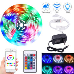 10m 300 Lights RGB Wifi Remote Control Party Holiday Event Decorative Lights US