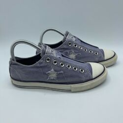 Converse One Star Womens Sneakers Lavender 531330FT Low Top Slip On Shoes 8 M $26.99