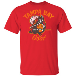 The Tampa Bay Goat Tampa Bay Buccaneers Tom Brady Inspired Unisex T Shirt $20.00