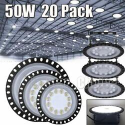 20X 50W 50 Watt UFO LED High Bay Light Shop Lights Commercial Lighting Fixture