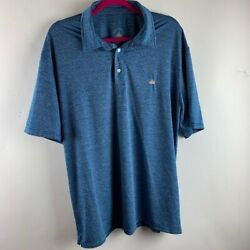 Anchor In Mens Lot of Two Shirts Blue Red Short Sleeve Size Large $18.99