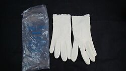 Vintage Ladies White Gloves Size 7 Style Rite Pearl Gloves in Package White $11.99