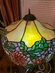 Wilkinson Lamp stain glass antique lamp $3500.00