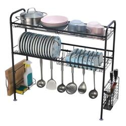 Over The Sink Dish Drying Rack Kitchen Countertop Organization Storage Dishes $27.69