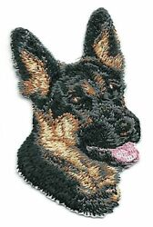 2quot; inch Tall German Shepherd Puppy Dog Breed Portrait Embroidered Patch $3.99