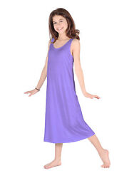 Lori Jane Big Girls Lavender Trendy Maxi Dress 6 16 $33.30