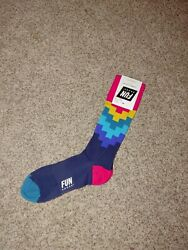 Fun Socks Combed Cotton Size 10 13 $7.00