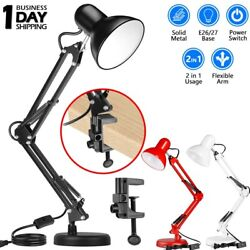 Dimmable LED Desk Lamp Touch with USB Charging Port 5 Brightness Levels Reading $21.79